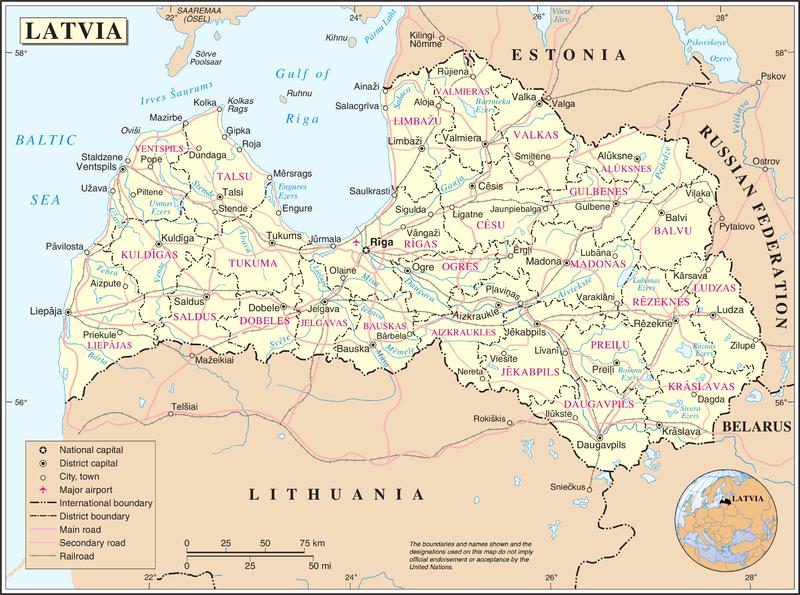 Trip to Latvia at wwwplesumscom
