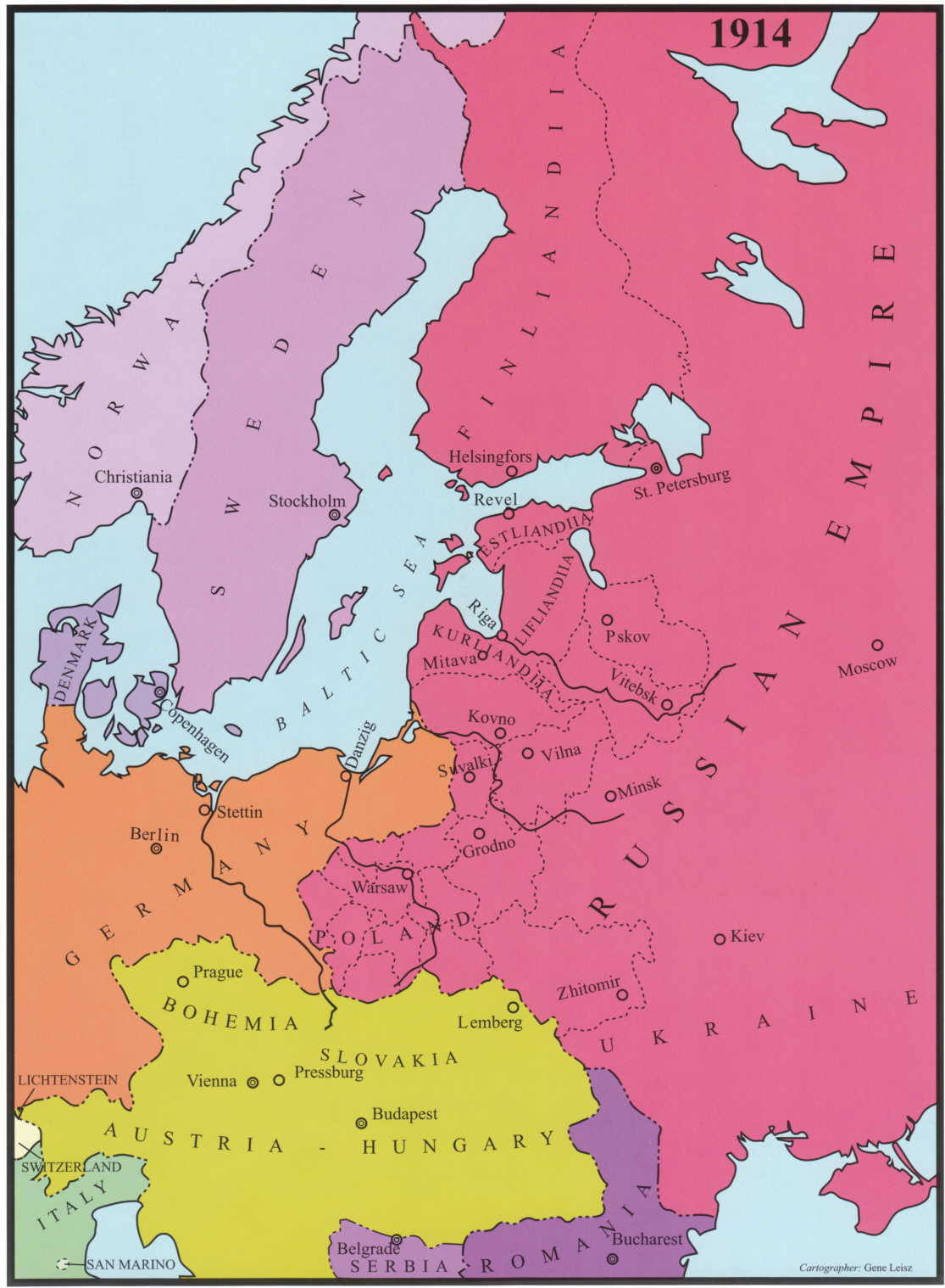 Map Of Latvia At Wwwplesumscom - Berlin map 1914