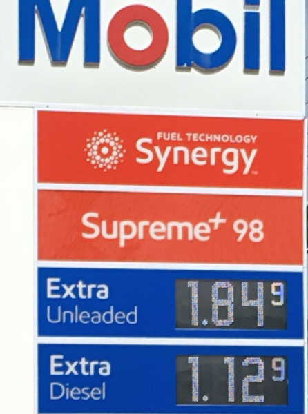 New Zealand gas prices