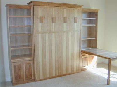 Murphy Beds on Murphy Bed And Murphy Desk At Www Plesums Com Wood
